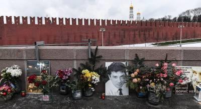 Сквер возле посольства России в Киеве назвали в честь Немцова
