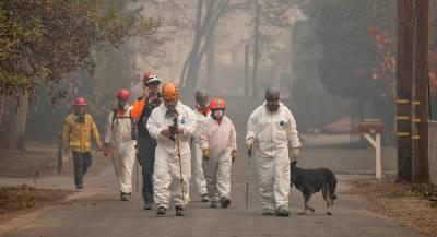 Число жертв пожаров в Калифорнии увеличилось