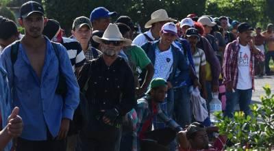 Камни в руках мигрантов приравняли в США к оружию