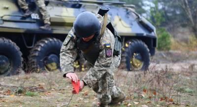 Украинские военные выпили и подорвались на мине