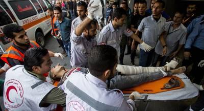 Израильский обстрел привёл к жертвам среди палестинцев