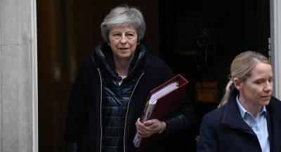 Мэй намерена добиться заключения соглашения по Brexit