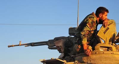 Сирийские войска отбили попытку прорыва боевиков