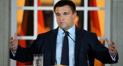 Климкин пообещал России санкции за выборы в ДНР и ЛНР