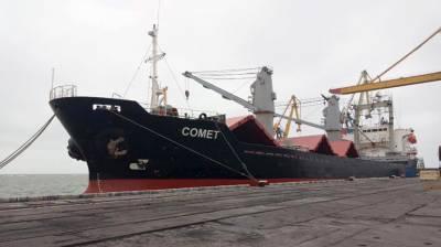 Киев по ошибке арестовал корабль с украинскими моряками