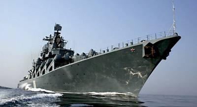 Корабли ВМФ России зашли в порт Брунея
