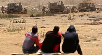 Израильские бульдозеры «ровняют» Газу с землёй