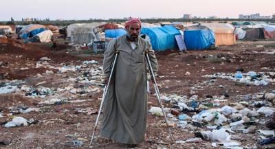 Антисанитария в сирийском лагере привела к сотне смертей