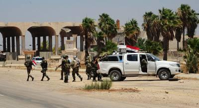 Сирийские военные погибли при обстрелах