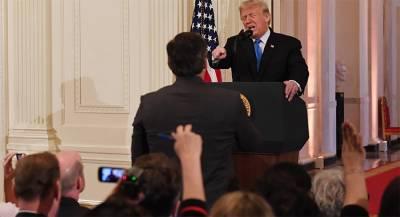 Белый дом ввёл правила поведения журналистов