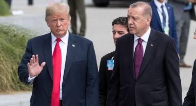 Эрдоган призвал США перестать поддерживать сирийских курдов