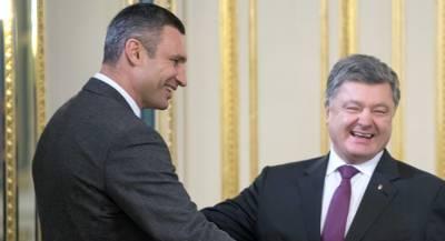 Кличко обратился к Порошенко из-за мёрзнущих украинцев