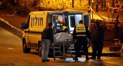Заминированный автомобиль взорвался в Тель-Авиве