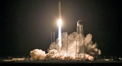 Ракета с грузом для МКС успешно стартовала в США