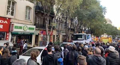 Балкон упал на шествие памяти жертв рухнувших домов