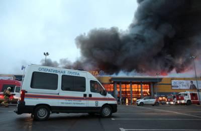Урок «Зимней вишни» прошел даром? В сгоревшей «Ленте» в Петербурге была отключена система пожаротушения