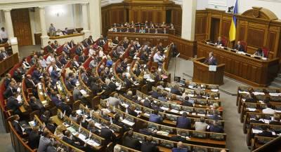 Депутаты Рады выступили против санкций в отношении ТВ Украины