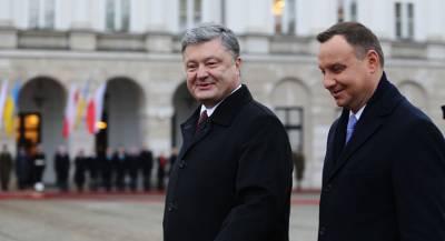 Порошенко назвал Польшу дружественной страной