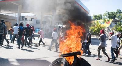 Массовые демонстрации начались на Гаити