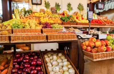 В России подешевели овощи и фрукты