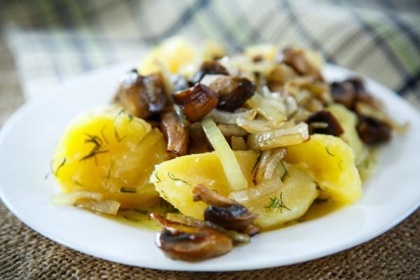 Что приготовить из грибов быстро и вкусно