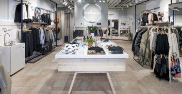 Как оформить магазин одежды